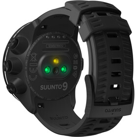 Suunto 9 - with HR Belt noir